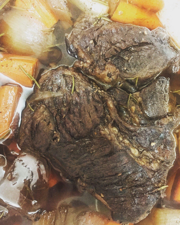 Rosemary Garlic Oven Roast Beef