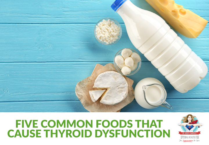 5 common foods that cause thyroid dysfunction
