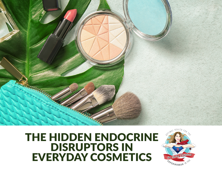 There might be toxins hiding in your makeup, shampoo and moisturizers! Avoiding these toxins can help protect your hormone balance and are especially important for anyone suffering from thyroid disease or any other autoimmune condition | Dr Becky Campbell