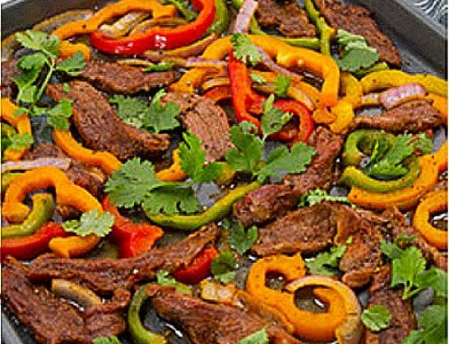 Low Histamine Sheet Pan Fajitas