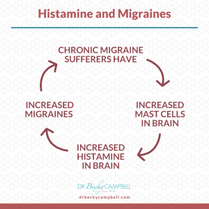 histamine and migraine cycle